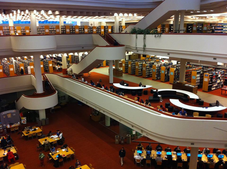 foreign language learning in libraries